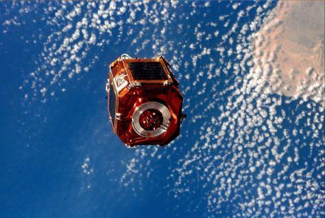 Otro satélite argentino: el SAC-A, armado por INVAP y lanzado en 1998