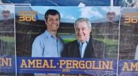 El Club Boca Juniors está en año electoral y la propaganda gráfico llegó a la ciudad. En distitnos puntos se pude ver los carteles de Ameal – Pergolini.