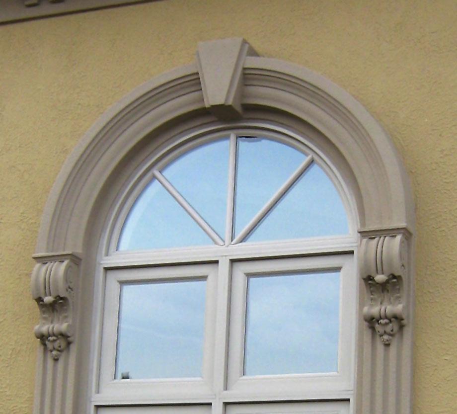 Quoins keystones for Exterior keystone molding