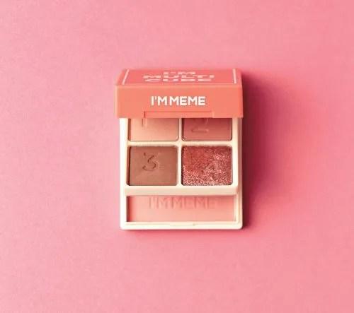 「I'M MEME」の4色アイシャドウ