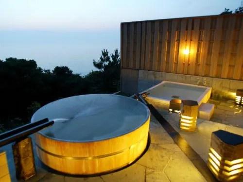 潮騒のリゾート ホテル海の露天風呂
