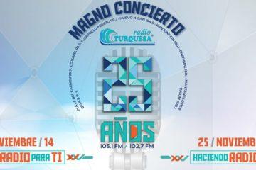 Artistas del Magno Concierto de Radio Turquesa