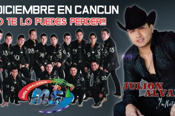 Julion Alvarez y Banda MS en Cancun