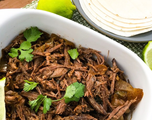 Slow Cooker Cowboy Brisket Tacos | Paleo, Low-carb