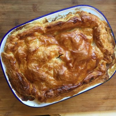 Homemade Steak and Kidney Pie