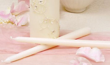 Wedding Candles for your Unity Candelabra