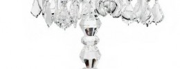 5 Arm Crystal Candelabra
