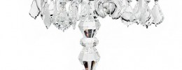 5-Arm Crystal Candelabra