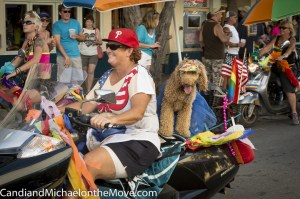 Dogs are welcomed everywhere in Key West