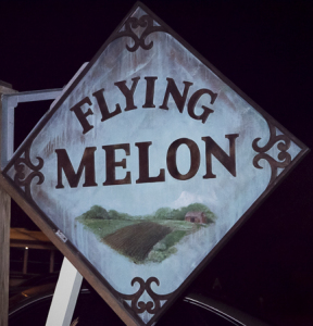The Flying Melon Cafe on Ocracoke Island