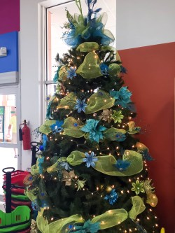 This was the tree that was displayed in our local grocery, pretty cool!