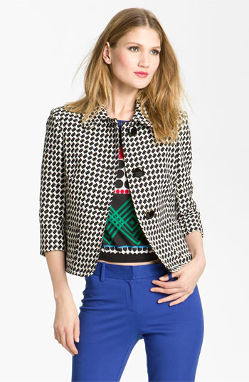 7031086 Celeb Fashion Find: Reality Star Bethenny Frankels Tory Burch Tweed Jacket