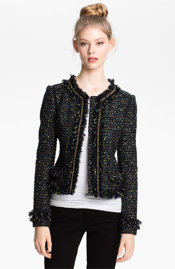 7292181 Celeb Fashion Find: Reality Star Bethenny Frankels Tory Burch Tweed Jacket