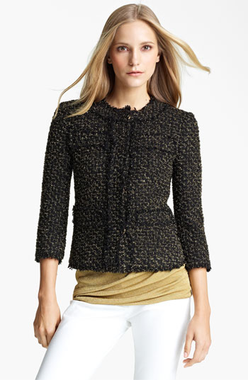 7343062 Celeb Fashion Find: Reality Star Bethenny Frankels Tory Burch Tweed Jacket