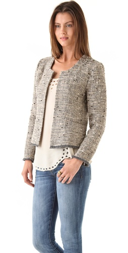 roryb4013713895 p1 1 0 254x5001 Celeb Fashion Find: Reality Star Bethenny Frankels Tory Burch Tweed Jacket