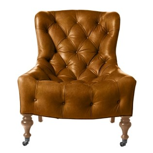 Bruno Leather Chair (in various colors). Serena & Lily