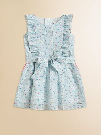 Chloe Toddler's (& Little Girl's) Floral Print Dress. Saks Fifth Avenue Easter