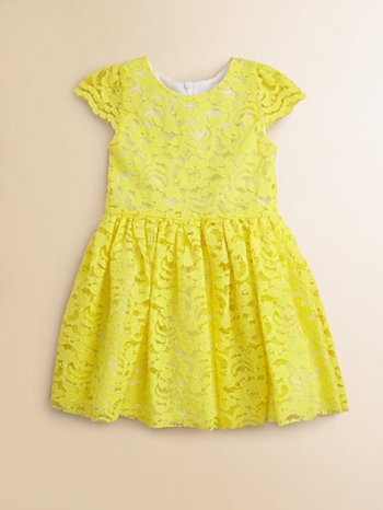 Halabaloo Toddler's (and Little Girl's) Lace Dress. Saks Fifth Avenue Easter