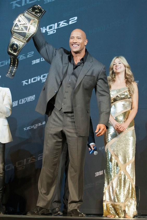 163299350MG00035 G I Joe Re 565x847 Dwayne Johnson & Co Stars At G.I. Joe: Retaliation Seoul Premiere