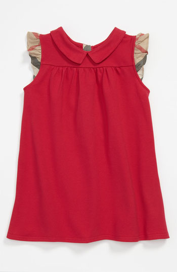 Burberry  'Perez' Piqué Polo Dress (Infant) Easter