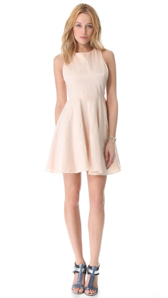 Elizabeth and James Rosalia Dress in Peach Wash. Shopbop