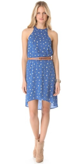 Splendid Parisian Tulip Dress in French Blue. Splendid