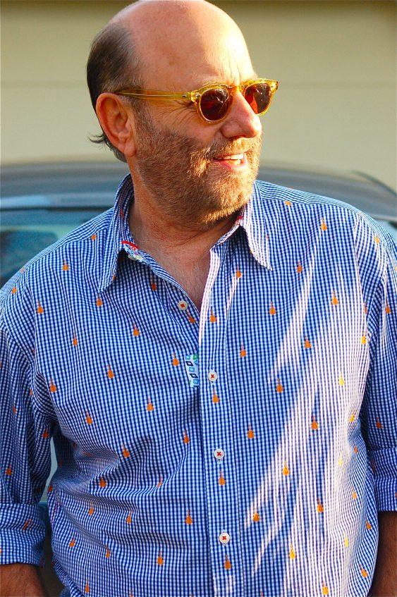 Fashion designer Robert Stock discusses his famed men's fashion line Robert Graham.
