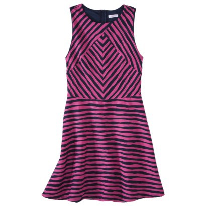 Xhilaration® Juniors Textured Fit & Flare Dress - Assorted Colors