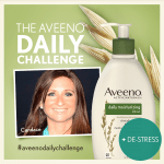 My Aveeno Daily Challenge to De-Stress and Take 30 Minutes For Myself!