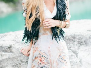 Adore Morgan James The Flare Dress and The Vest! Running On Happiness Kate model Candace Rose fashion