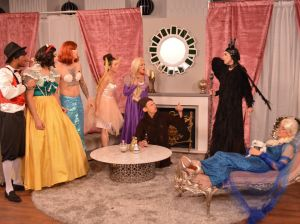 "Jason Kennedy, Melanie Bromley, Catt Sadler Giuliana Rancic and the The E! News Crew in the Halloween inspired ""E! True Hollywood Story: Who Killed Elsa? special airing tonight on E!"
