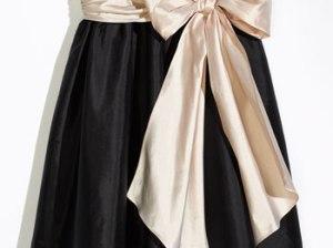 Us Angels Sleeveless Empire Waist Taffeta Dress (Toddler, Little Girls & Big Girls)