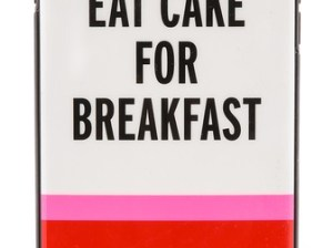 Kate Spade New York Eat Cake For Breakfast iPhone 6 Plus Case