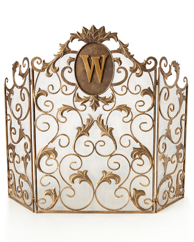 Glam Up Your Home With An Ornate Fireplace Screen Perfect