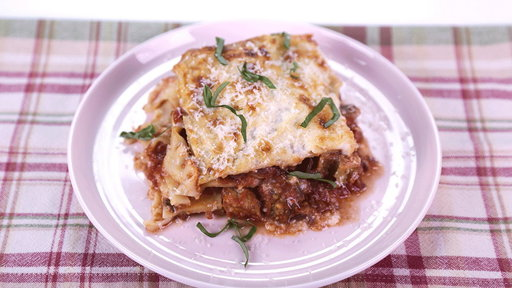 "Learn how to make the delicious vegetarian baked lasagne alla norma that chef Mario Batali and Robin Roberts prepared on ""The Chew""!"
