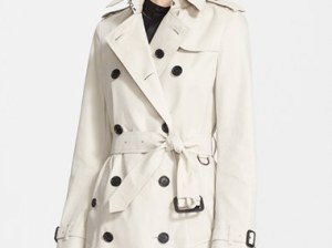 Burberry London 'Buckingham' Double Breasted Trench Coat