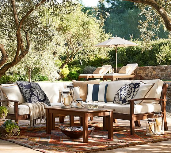 Update Your Outdoor Furniture During Pottery Barn 39 S 20 Off Sale Just In Time For Spring And