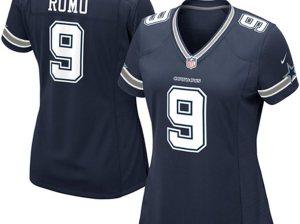 Nike Tony Romo Dallas Cowboys Women's Navy Blue Game Jersey