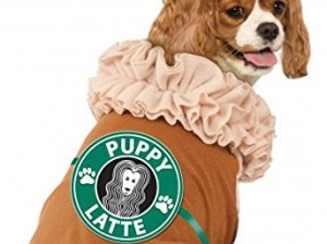 Rubies Costume Iced Coffee Puppy Latte Pet Costume in Small Halloween costume