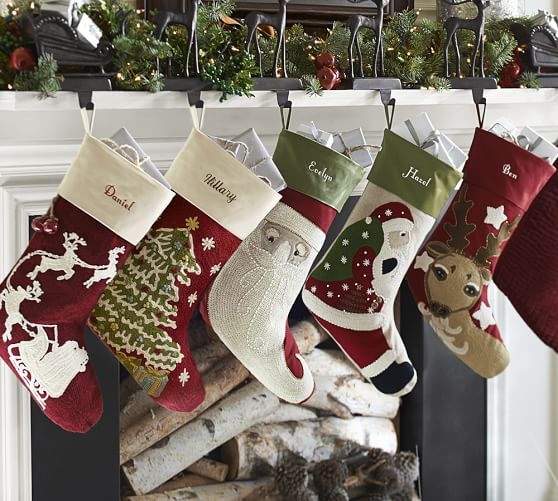 Pottery barn sale christmas ornaments stockings holiday