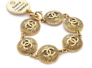 What Goes Around Comes Around Chanel Burst Coins Bracelet (Previously Owned). Shopbop
