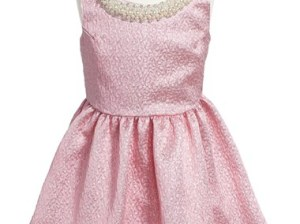 Le Pink Sleeveless Dress (Little Girls & Big Girls) in Pink or Gold