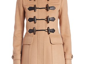 Burberry Brit Blackwell Duffle Coat in New Camel