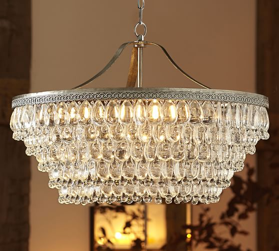 Pottery Barn Bellora Chandelier Reviews: Pottery Barn Dining Event: Save 20% On Dining Tables