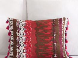 Pottery Barn Teen Painterly Printed Pillow Cover pottery barn teen 20% off sale