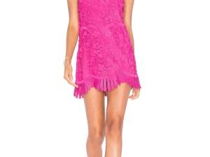 LOVERS + FRIENDS X REVOLVE CASPIAN SHIFT DRESS Fuchsia shift dresses summer wedding guest season candace rose
