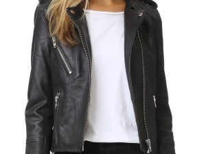 Doma Leather Moto Jacket Black leather moto jackets fall 2016