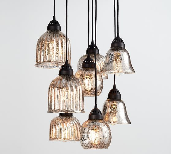 Glass Pendant Lights Pottery Barn : Off pottery barn chandeliers and pendant lights sale