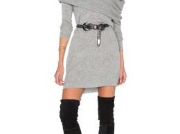 WHITE + WARREN 3 Way Sweater Dress Grey Heather sweater dresses fall 2016