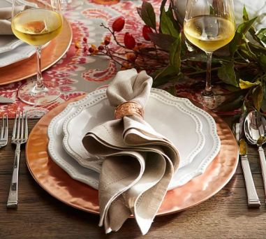 Glam Charger Plates For The Perfect Holiday Party Candace Rose